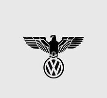 Volkswagen vintage logo - iPhone cover by CaptainTrips