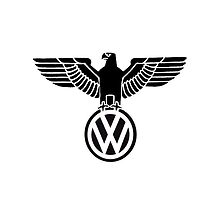 Volkswagen vintage logo - iPad cover by CaptainTrips