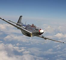 P51 Mustang - 'Big Beautiful Doll' by Pat Speirs