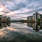 The Shore, Edinburgh Long Exposure Sunset by Miles Gray