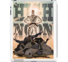 Jiu Jitsu Hero- High Noon iPad Case/Skin