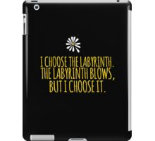 John Green -- Looking For Alaska -- Choose it iPad Case/Skin