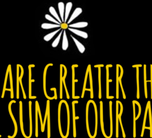 John Green -- Looking For Alaska -- Sum of Our Parts Sticker