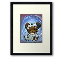 Mr. Chompypants meets a Wampa Framed Print