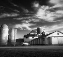 Farmhouse HDR by David Lamb