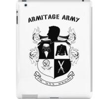 Armitage Army CoA -txt- iPad Case/Skin