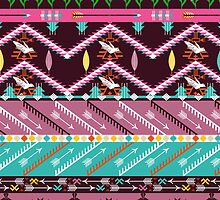Navajo pattern with geometric elements by tomuato