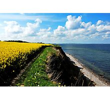 Once again walking on the spring cliff Photographic Print