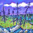 Fir Trees in the Taiga by ivDAnu