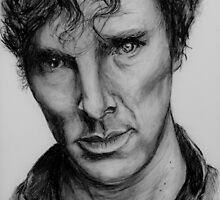 Benedict Cumberbatch by Tricia Winwood