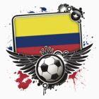 Soccer Fan Colombia by magiktees