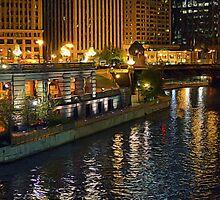 Chicago Riverwalk by Brian Gaynor