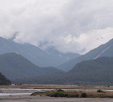 Landscape - Mountain Range by Kim-maree Clark