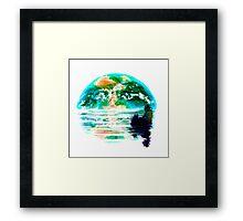 Homesick Framed Print