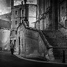 St Laurence Church Portico-- Birgu, Malta by Edwin  Catania