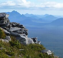View from Bluff Knoll (Stirling Ranges) by Fabiano