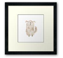 Fluffy Dog Framed Print