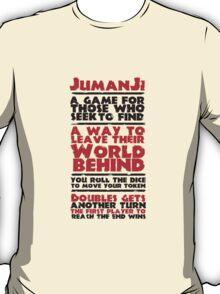 Jumanji's Rules T-Shirt