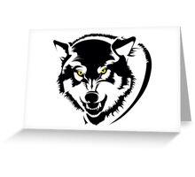 Wolf  Greeting Card