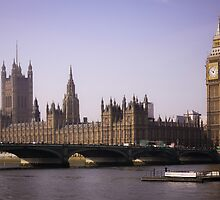 Big Ben London by Marsstation