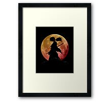 Kenshin into the Dark Framed Print
