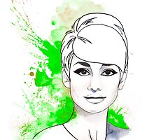 Audrey#11 by SilviaSanz