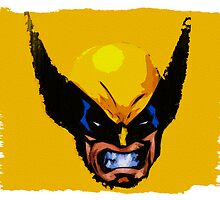 Comic book style Wolverine by Colin Bradley