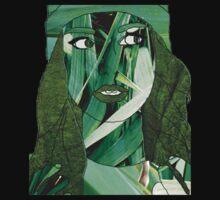 """Fresh Faced"" Digital Art Mixed Media T-Shirt"