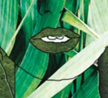 """""""Fresh Faced"""" Digital Art Mixed Media Sticker"""