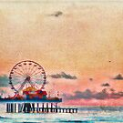 Galveston's Historic Pleasure Pier by lisapowell