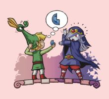 Zelda Minish Cap : Vaati and Link Fusion by Purrdemonium