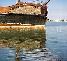 Shipwreck Reflection by LaWeez