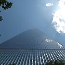 Looking Up from the Base of the New World Trade Center, Lower Manhattan, New York City by lenspiro