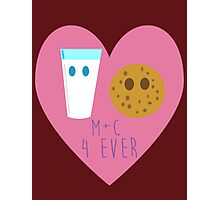 M + C 4 Ever  Photographic Print