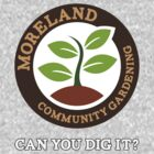 Can you dig it? (Colour Logo) by Moreland Community Gardening