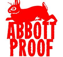 Abbott Proof Red Card & Prints by M  Bianchi