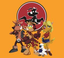 Ty the Tasmanian Tiger  by Drumasaurs