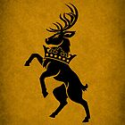 House Baratheon Minimalist by Digital Phoenix Design