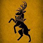 House Baratheon Minimalist by Digital Phoenix Design