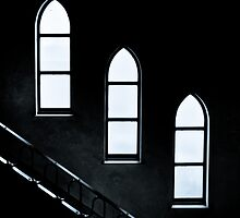 The monastery's windows by soundsilencebe