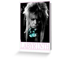 Labyrinth Jareth The Goblin King Greeting Card