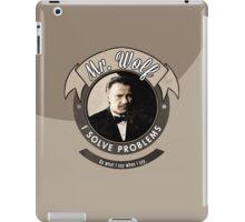 Mr. Wolf iPad Case/Skin