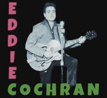 Eddie Cochran by LetThemEatArt