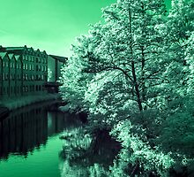 Infra-Red River by Marsstation