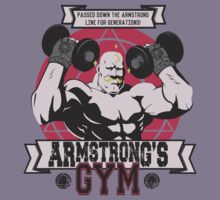 Armstrong's gym by AutoSave