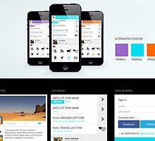 Mobile UI Design by renoldscott