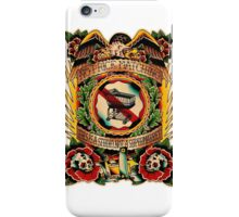 Informative Signs - Set 01 - No price matching iPhone Case/Skin