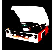 Record Player/ Modern Photographic Print