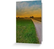 Country road on a summer afternoon | landscape photography Greeting Card