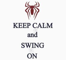 Keep Calm and Swing On Kids Clothes